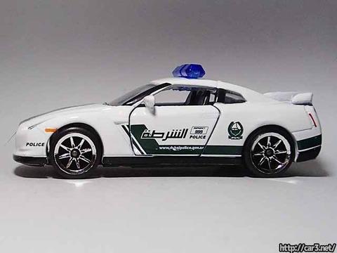 マジョレットDUBAI POLICE SUPER CARS_R35GT-R_09