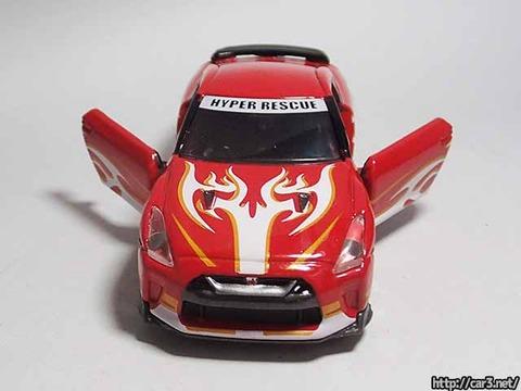ドリームトミカドライブヘッド機動救急警察専用車日産GT-R消防Ver_12
