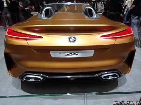 東京モーターショーBMW_Z4_08
