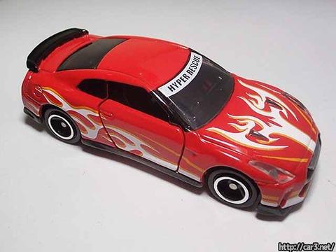 ドリームトミカドライブヘッド機動救急警察専用車日産GT-R消防Ver_06