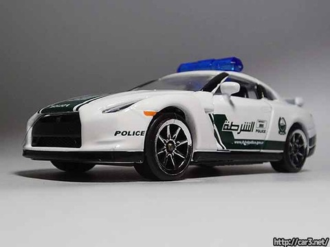 マジョレットDUBAI POLICE SUPER CARS_R35GT-R_04