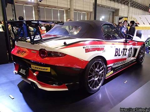 ライトチューニングコンセプトカー「BLITZ NDロードスター」_03