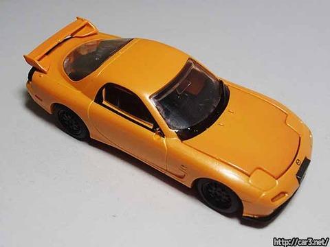 日本名車倶楽部7_RX-7FD3S_ロータリーエンジンの継承_F-toys_06