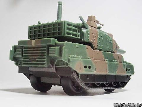 海洋堂WORLD_TANK_MUSEM陸上自衛隊編2_10式戦車_05