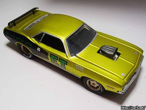 M2ミニカー1971プリマスHEMIコーダET_MAGS06