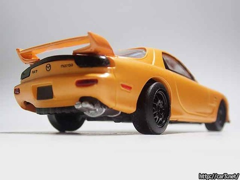 日本名車倶楽部7_RX-7FD3S_ロータリーエンジンの継承_F-toys_05