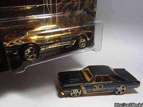 ローソン限定発売ホットウィール50周年ゴールド&ブラック金カマロ06