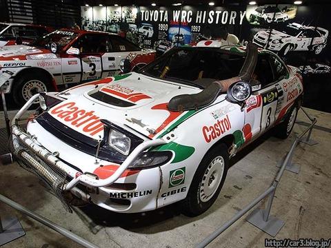 TOYOTA_WRC参戦車両歴代セリカ_01