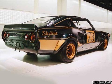日産スカイライン2000GT-Rレーシングコンセプトレストア前_05