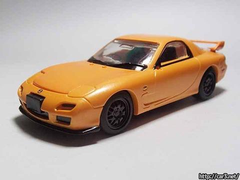 日本名車倶楽部7_RX-7FD3S_ロータリーエンジンの継承_F-toys_02