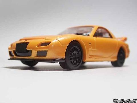 日本名車倶楽部7_RX-7FD3S_ロータリーエンジンの継承_F-toys_04