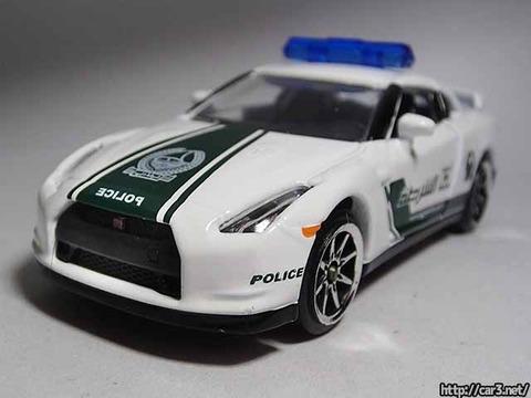 マジョレットDUBAI POLICE SUPER CARS_R35GT-R_10