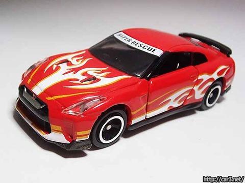 ドリームトミカドライブヘッド機動救急警察専用車日産GT-R消防Ver_02