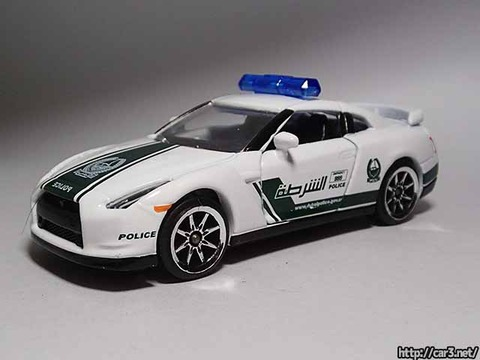 マジョレットDUBAI POLICE SUPER CARS_R35GT-R_02