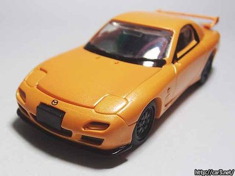 日本名車倶楽部7_RX-7FD3S_ロータリーエンジンの継承_F-toys_10