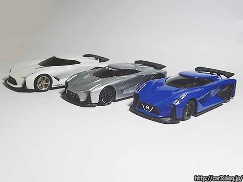 日産コンセプト2020ビジョングランツーリスモ・ミニカー比較01
