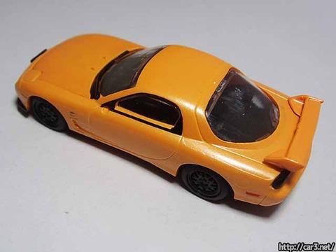 日本名車倶楽部7_RX-7FD3S_ロータリーエンジンの継承_F-toys_07