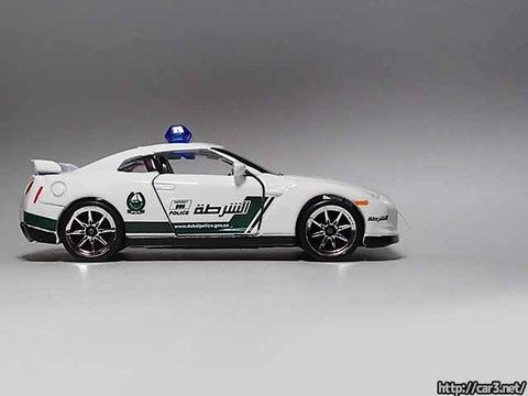 マジョレットDUBAI POLICE SUPER CARS_R35GT-R_01