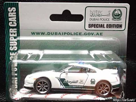 マジョレットDUBAI POLICE SUPER CARS_R35GT-R_16