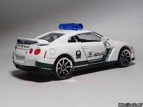 マジョレットDUBAI POLICE SUPER CARS_R35GT-R_03