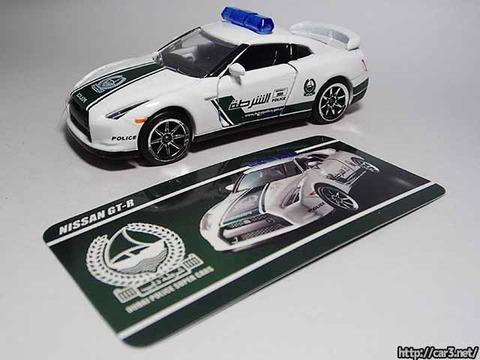マジョレットDUBAI POLICE SUPER CARS_R35GT-R_18
